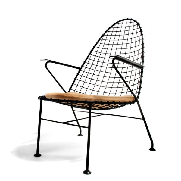 Italian Wire Chairs - A Pair - Image 3 of 4