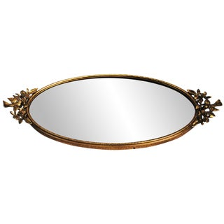 Ormolu Mirrored Vanity Tray