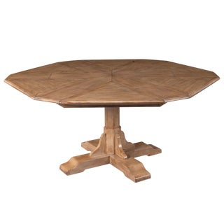 Sarreid LTD Hexagonal Jupe Dining Table