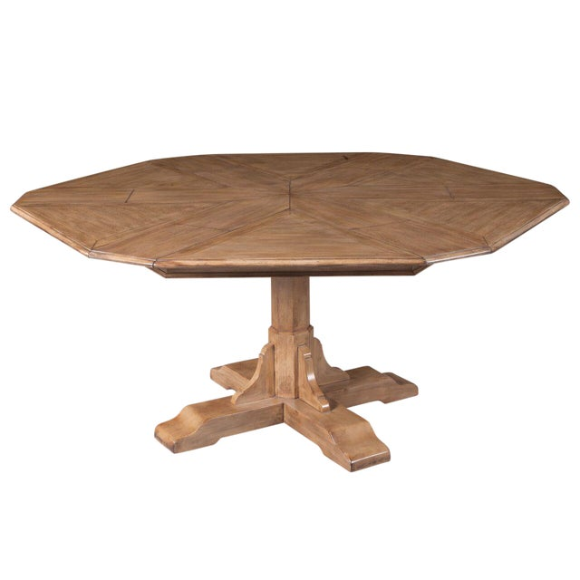 Image of Sarreid LTD Hexagonal Jupe Dining Table