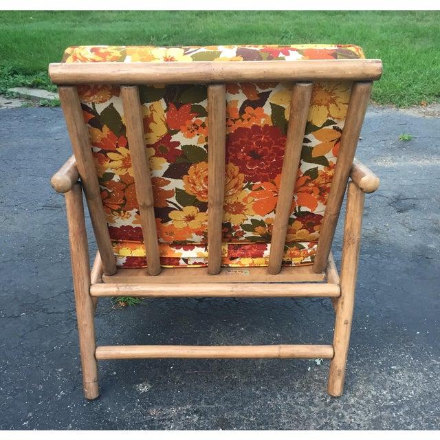 John Wisner for Ficks Reed Rattan Chair - Image 5 of 5