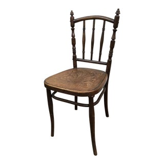 Antique French Country Accent Chair