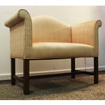 Image of Chippendale Straight Leg Settee/Love Seat