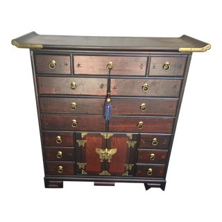 Korean Tansu Apothecary Style Chest