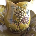 Image of Mid-Century California Pottery Bowl & Pitcher - A Pair