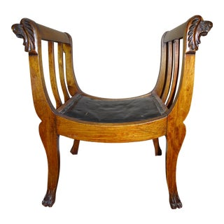 Renaissance Carved Wooden Chair