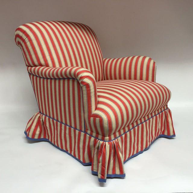 Diamond Baratta Striped Lounge Chair - Image 2 of 6