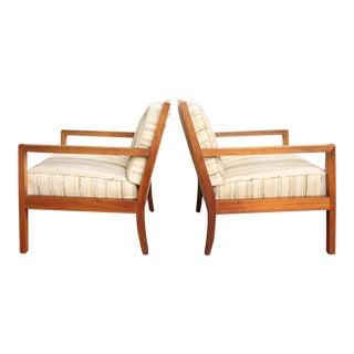 Mid-Century Modern Teak Club Chairs - A Pair