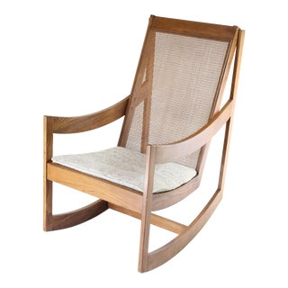 Scandinavian Wood Rocking Chair