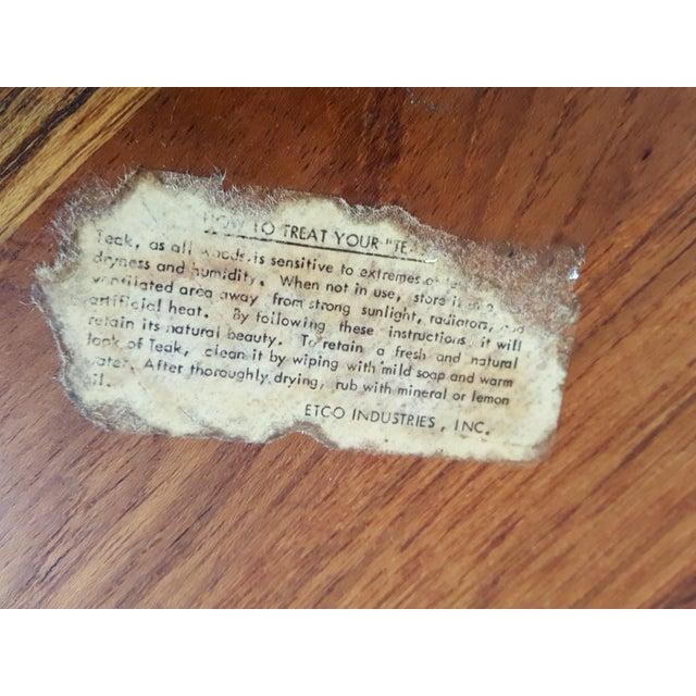 Ernest Sohn Rectangular Siamese Teak Bowl - Image 9 of 11