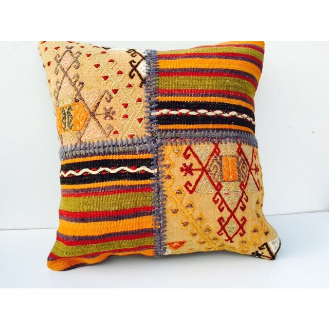 VINTAGE Turkish Kilim Pillow - Image 2 of 5
