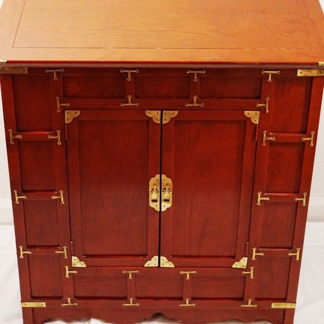 Image of Campaign Chest with Brass Hardware