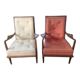 Mid-Century Robsjohn-Gibbins Side Chairs - A Pair
