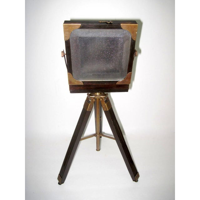 Brass And Wood Tripod Replica 1800's Box Camera - Image 5 of 9