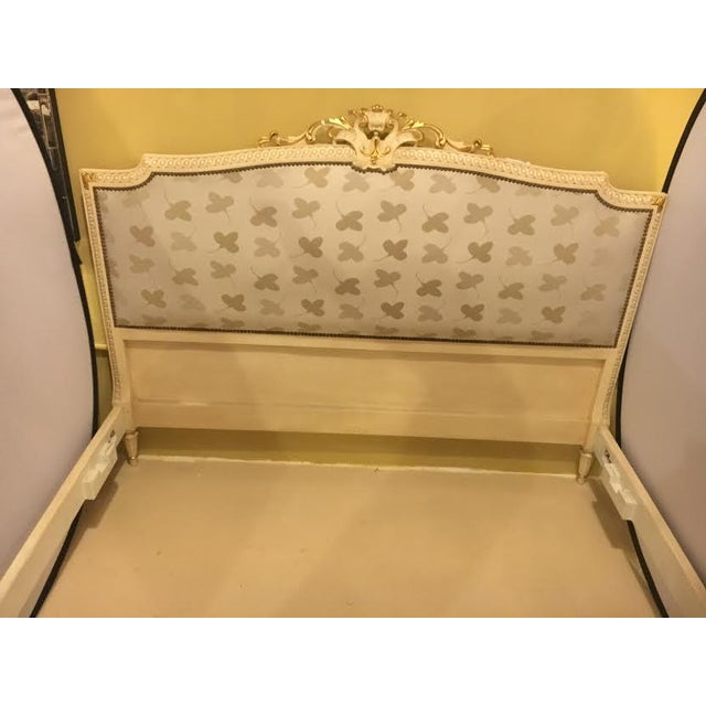 Painted French Louis XVI Style Bed - Image 3 of 7