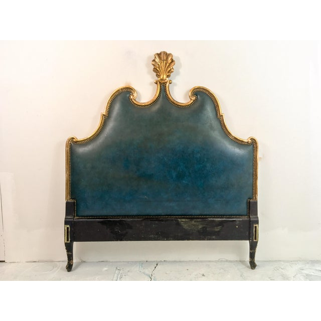 French Gilded Full or Queen Headboard - Image 4 of 4