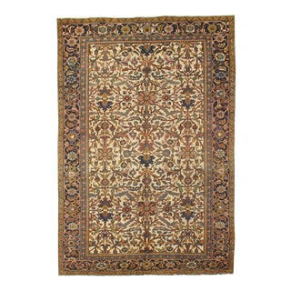 "Pasargad N Y Antique Persian Heriz Hand-Knotted Rug - 7'4"" x 10'7"""