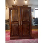 Image of Indian Iron Wood CD/DVD Armoire
