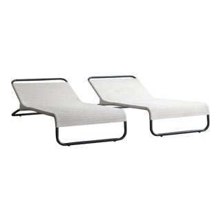 Van Keppel Green Chaise Lounges - A Pair