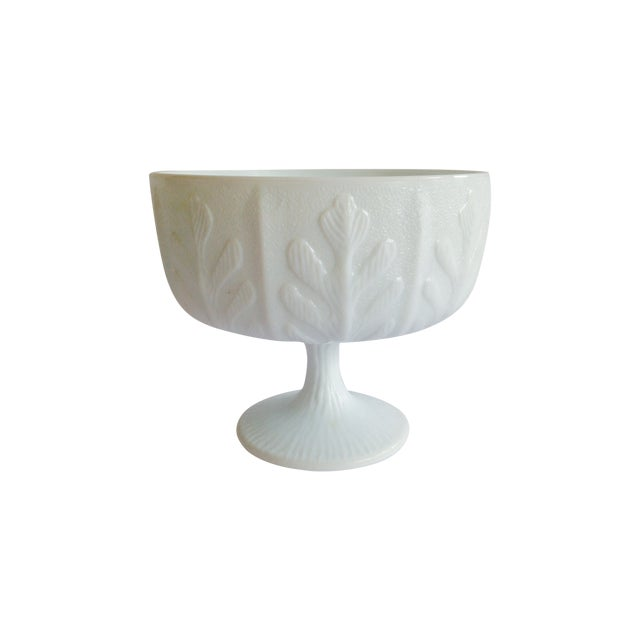 Image of Mid-Century White Coral Vessel