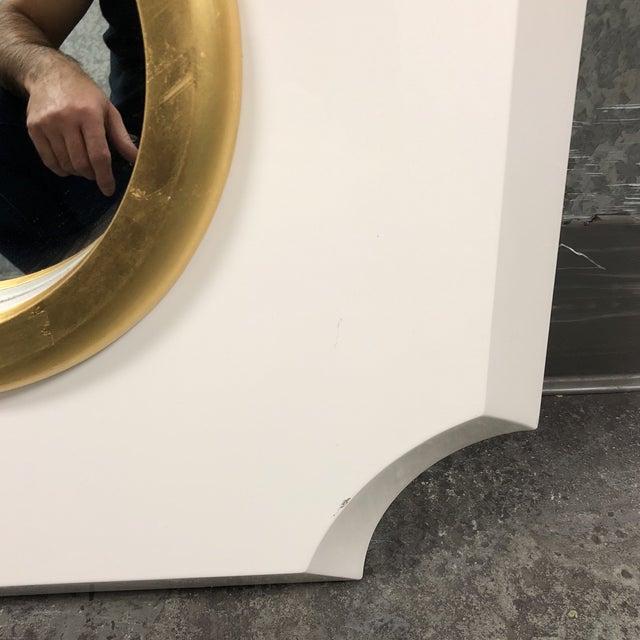 Palecek Andaz White Mirror - Image 5 of 7