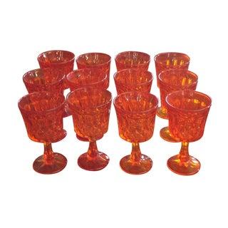 Tangerine Dream Noritake Glasses -Set of 23
