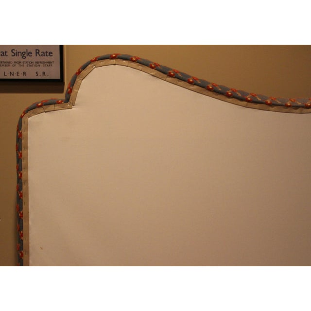 Custom Brunschwig & Fils Headboard - Image 9 of 9