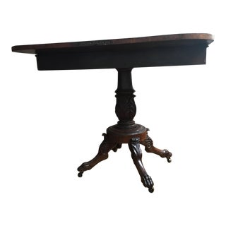 Antique Traditional Style Game Table
