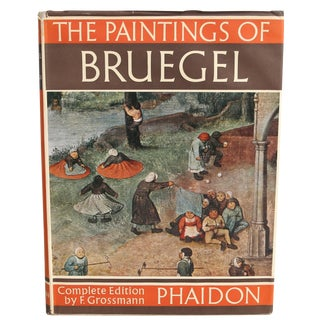 """The Paintings of Bruegel"" First Edition Book"