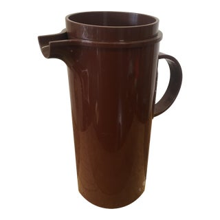 Mid-Century Dansk Brown Molded Plastic Pitcher