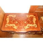 Image of Marquetry Side Table