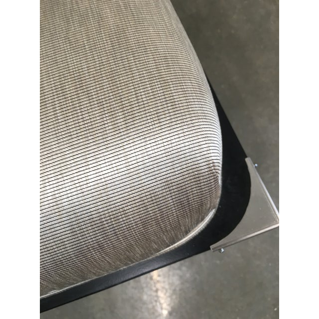 New Pair of High End Black Asian Chairs - Image 8 of 9