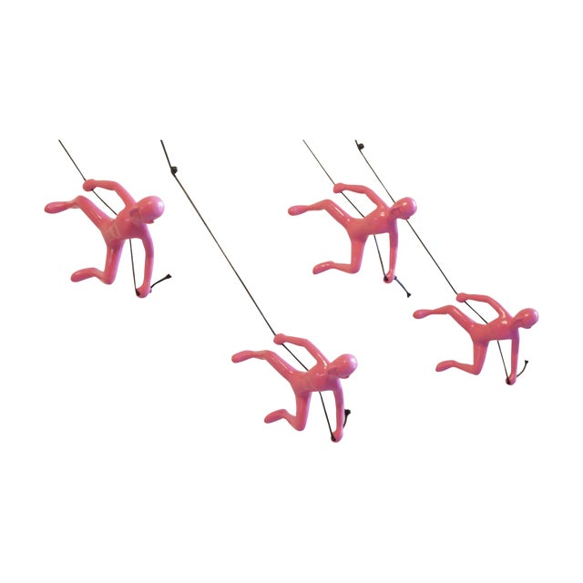 Image of Pink Exclusive Position Climbing Men - Set of 4