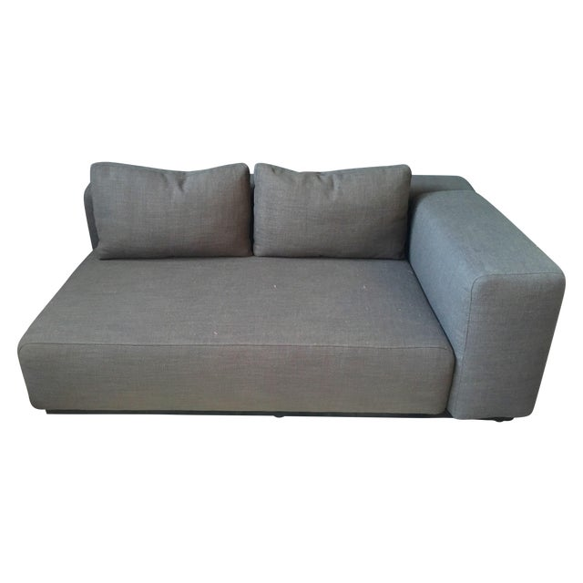 Image of DWR Danish Softline Italian Linen Daybed