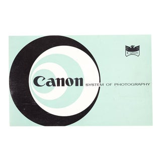 Canon System of Photography -Original 1950s Camera Rangefinder Manual