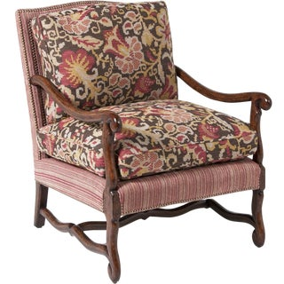 Italian Baroque Style Armchairs - A Pair