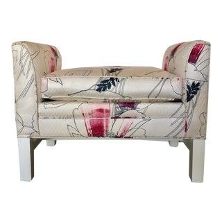 Mid Century 2 Arm Vanity Bench