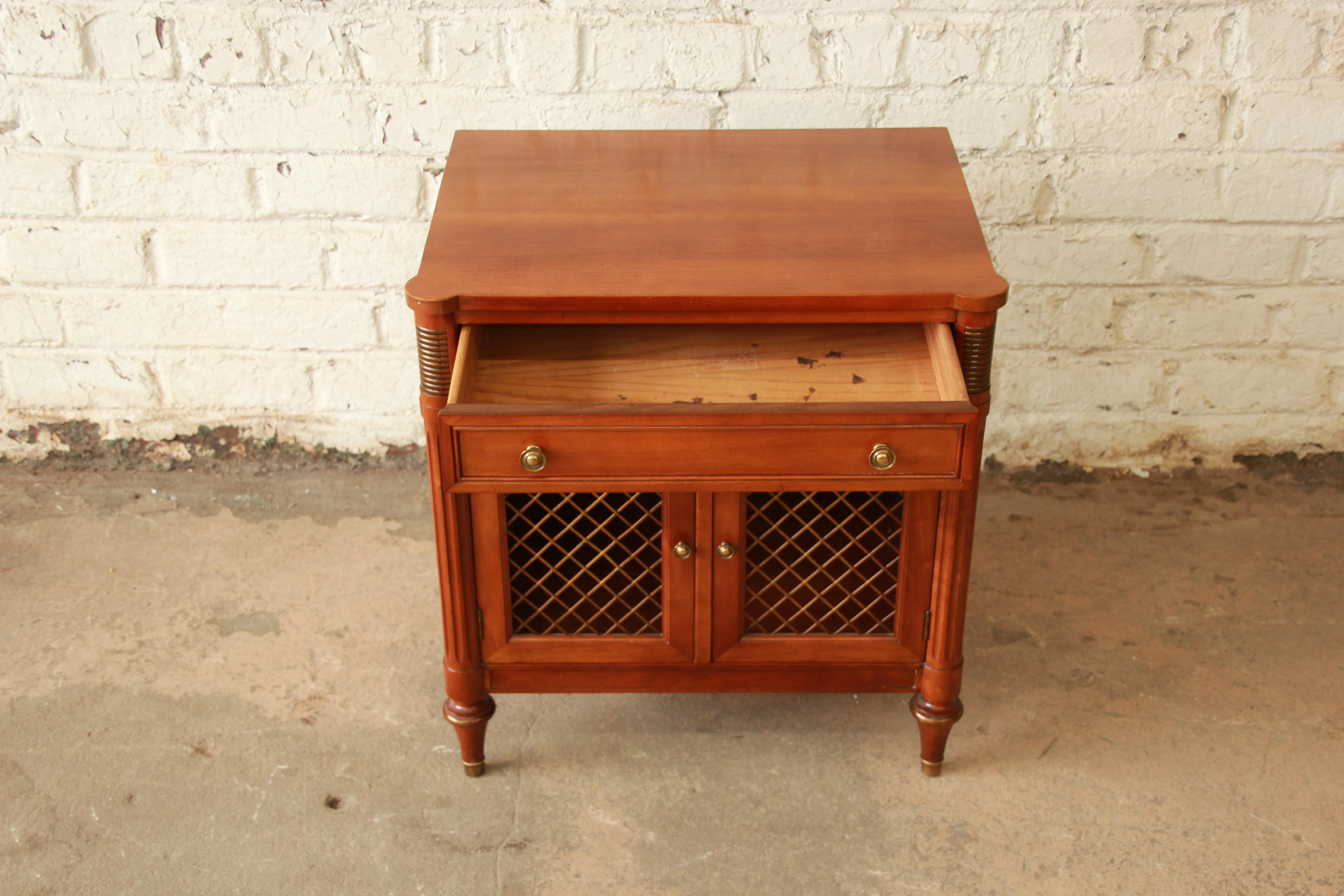 Kindel Furniture French Regency Style Nightstand   Image 8 Of 11