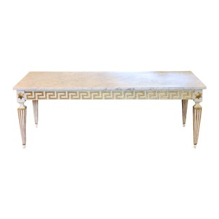 Italian Mid-Century Neoclassical Coffee Table