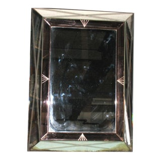 French Mirror Framed by a Double Mirror Frame