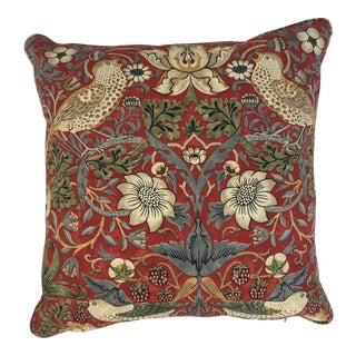 William Morris Strawberry Thief Pillow
