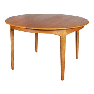 Henning Kjaernulf Round Dining Table