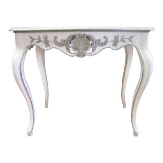 Antique Louis XV Hand Carved Console Table