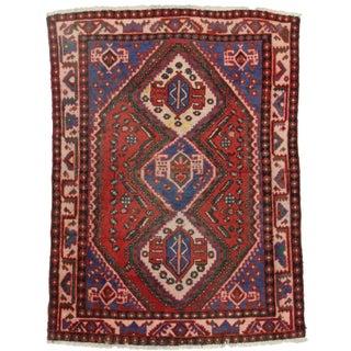 Rugsindallas Persian Shiraz Wool Rug - 4′9″ × 6′4″