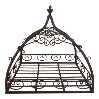 French Style Domed Hanging Pot Rack