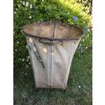 Image of Maine Weaving Company Canvas Basket On Wheels