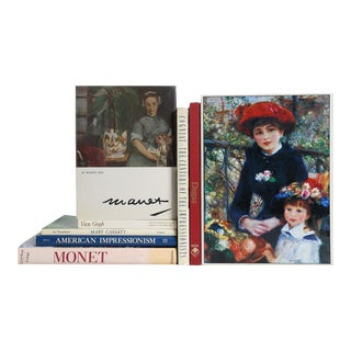 Age of Impressionists Book Collection - Set of 8