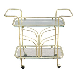 Mid-Century Bar Cart