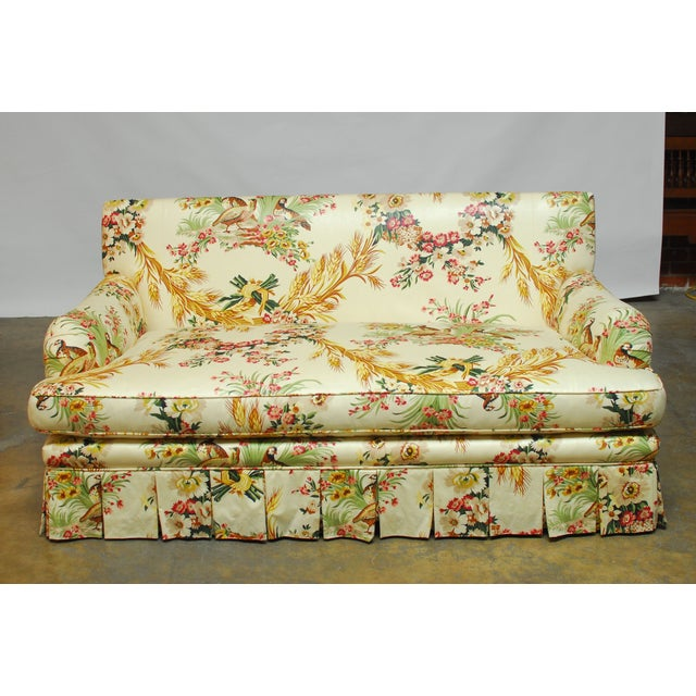 Brunschwig & Fils French Upholstered Toile Sofa - Image 10 of 10