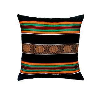 Sample Sale|Kente Cloth Print Pillow- a Pair